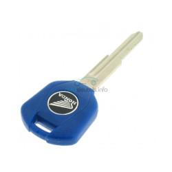 Honda Motorschlüssel - Blau - Schlüsselblatt HON70 - After Market Produkt